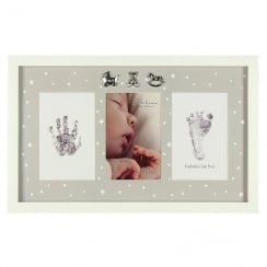 MDF Photo Frame Hand/Foot Print & Ink Pad