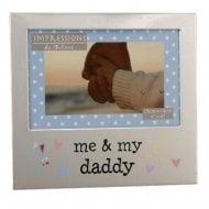 Me & My Daddy 4 x 6 Photo Frame