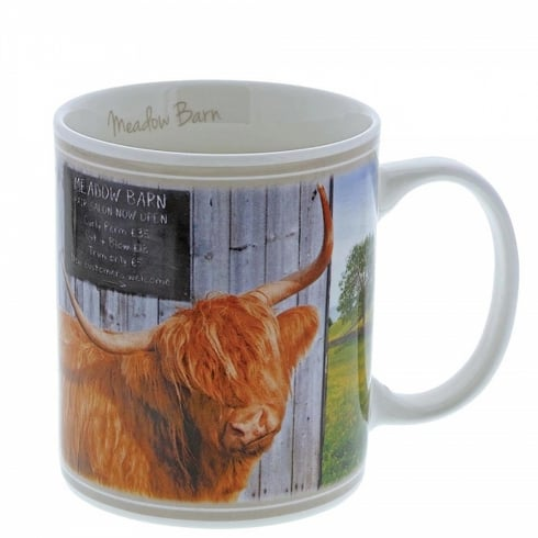 Border Fine Arts Meadow Barn Mug