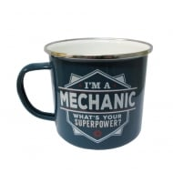 Mechanic Tin Mug 19