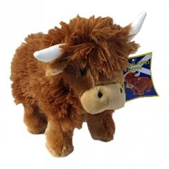 Medium Highland Cow Soft Toy