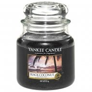 Medium Jar Candle Black Coconut