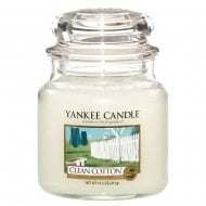 Medium Jar Candle Clean Cotton