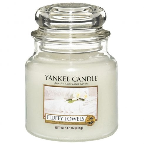 Yankee Candle Medium Jar Candle Fluffy Towels