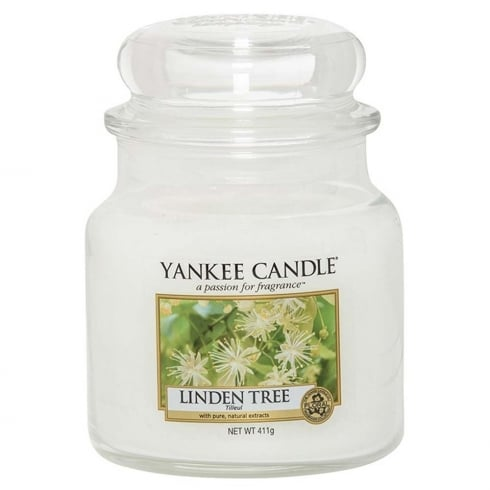 Yankee Candle Medium Jar Candle Linden Tree