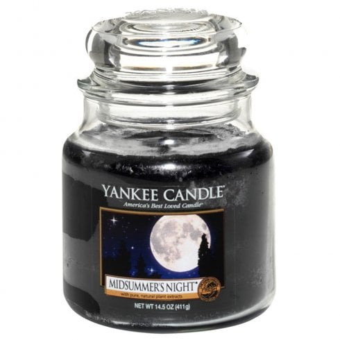 Yankee Candle Medium Jar Candle Midsummers Night