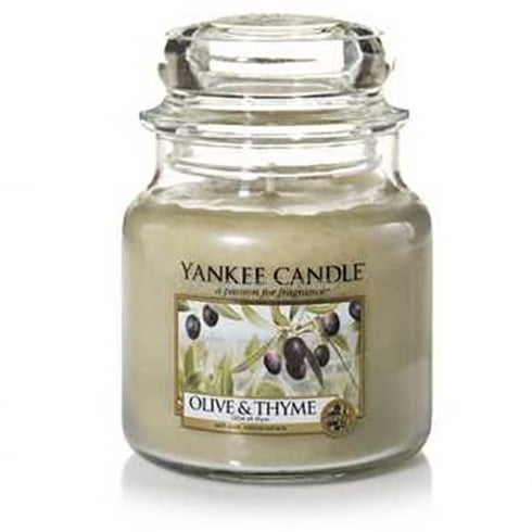 Yankee Candle Medium Jar Candle Olive & Thyme