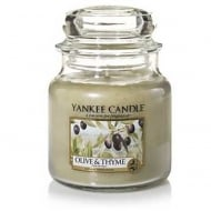 Medium Jar Candle Olive & Thyme