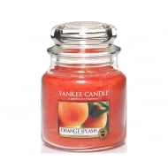 Medium Jar Candle Orange Splash