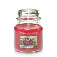 Medium Jar Candle Red Raspberry