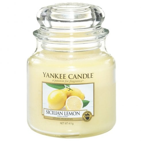 Yankee Candle Medium Jar Candle Sicilian Lemon