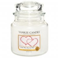 Medium Jar Candle Snow In Love