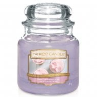 Medium Jar Candle Sweet Morning Rose