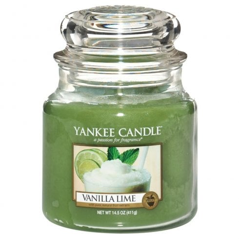 Yankee Candle Medium Jar Candle Vanilla Lime