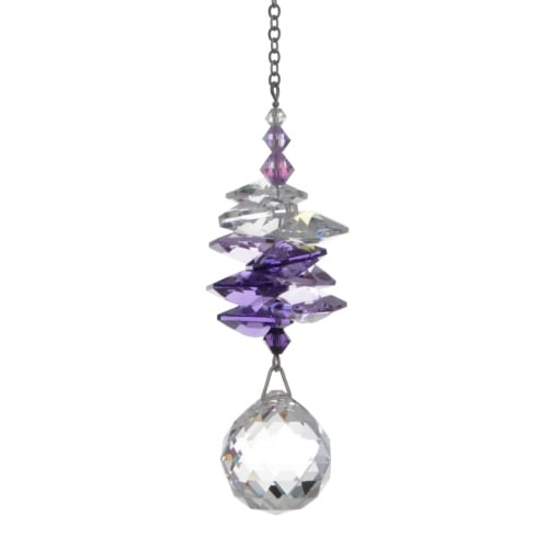 Wild Things Gifts Medium Purple Cascade 20mm Ball