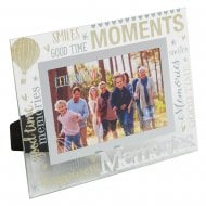 Memories 3D Words 6 x 4 Glass Photo Frame
