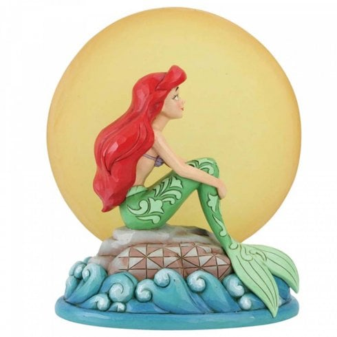 Disney Traditions Mermaid by Moonlight Ariel Figurine