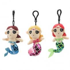 Mermaid Plush Keychain