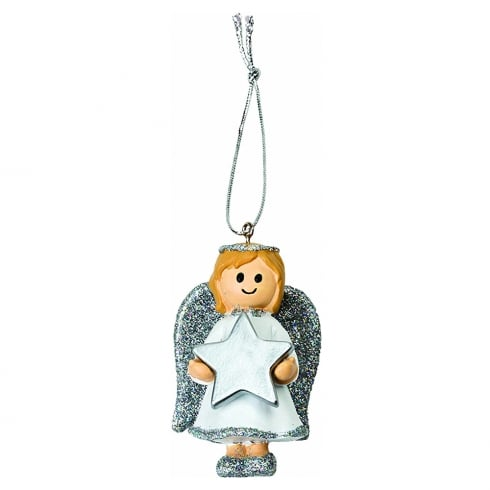 Merry Christmas - Angel Girl Hanging Ornament