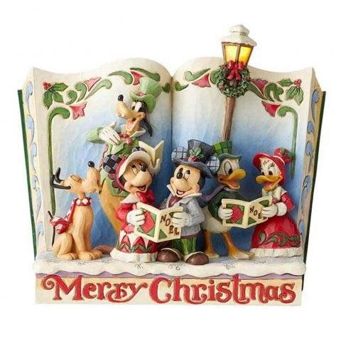 Disney Traditions Merry Christmas - Christmas Carol Storybook Figurine