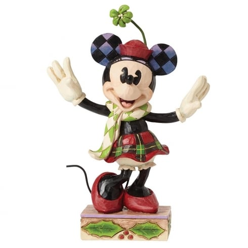 Disney Traditions Merry Minnie Mouse