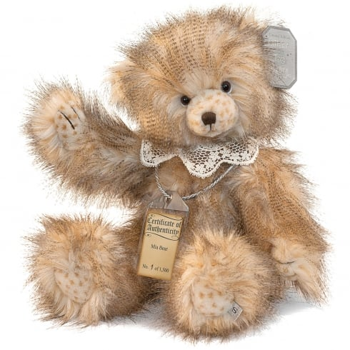 Silver Tag Bears Mia Limited Edition Bear