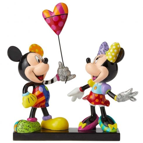 Disney By Britto Mickey And Minnie Mouse