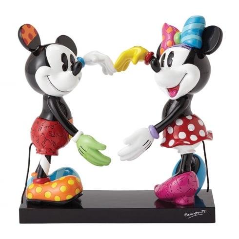 Disney By Britto Mickey & Minnie Mouse Figurine