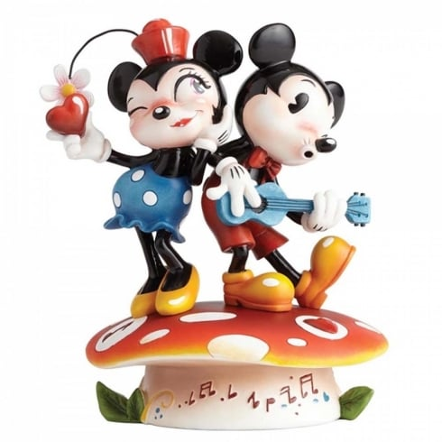 The World of Miss Mindy Presents Disney Mickey & Minnie Mouse Figurine