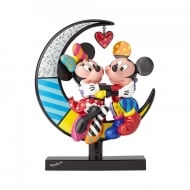 Mickey & Minnie On Moon Figurine