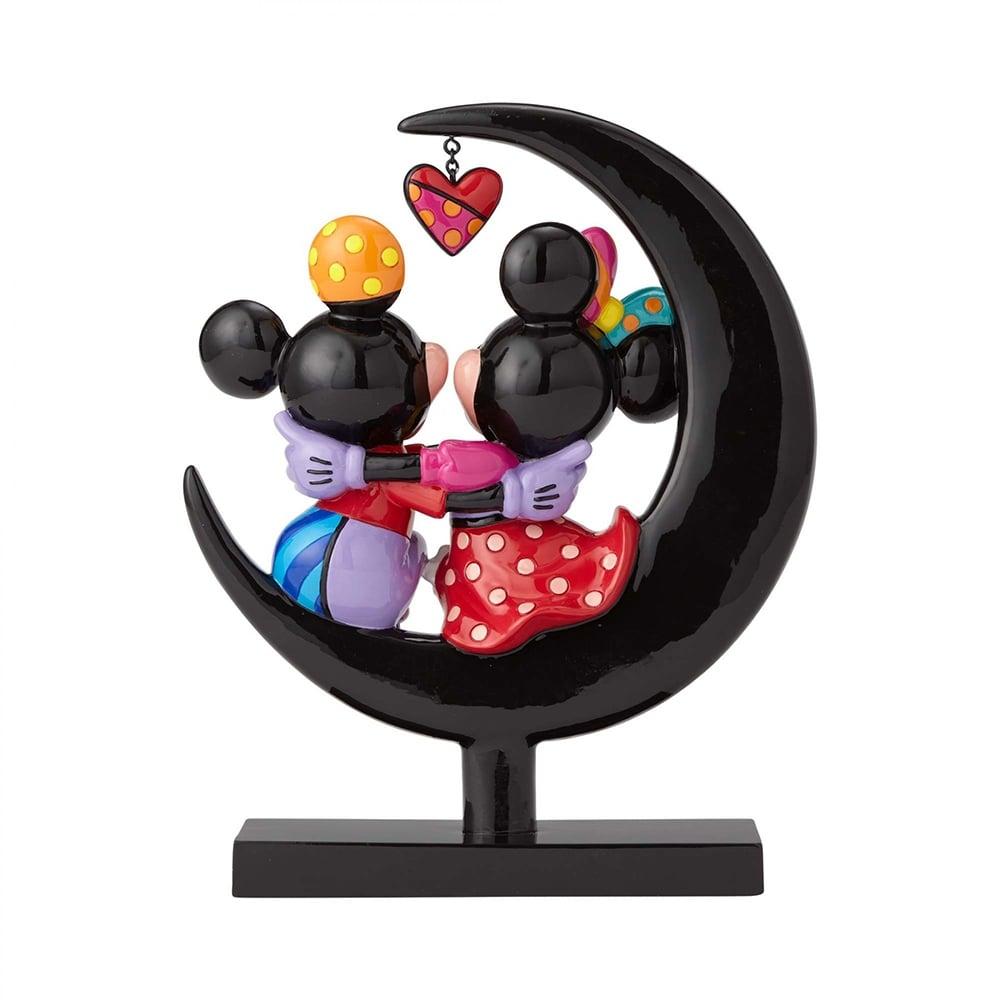Disney By Britto Mickey & Minnie On Moon Figurine 4059575