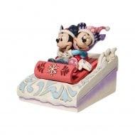Mickey & Minnie Sledding