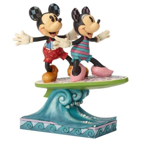 Disney Traditions Mickey & Minnie - Surfs Up