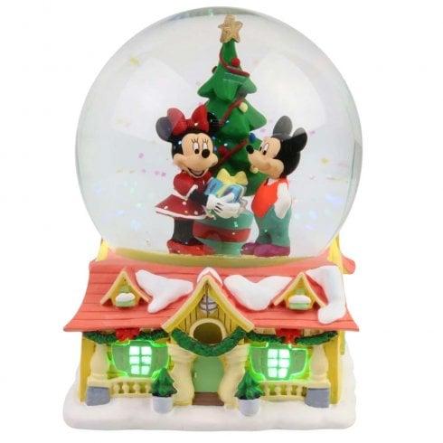 Department 56 Mickey & Minnie Waterball