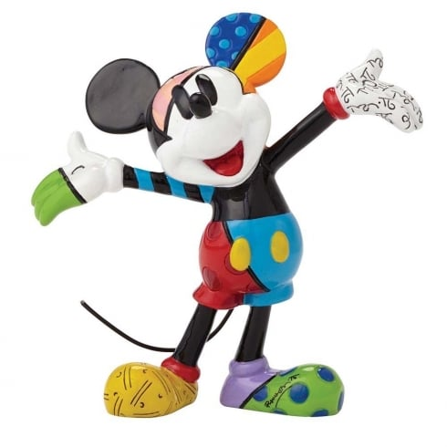 Disney By Britto Mickey Mouse Mini Figure
