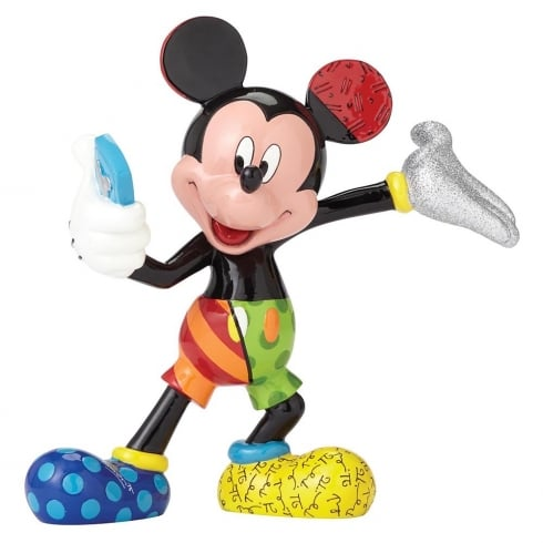 Disney By Britto Mickey Mouse Selfie Figurine