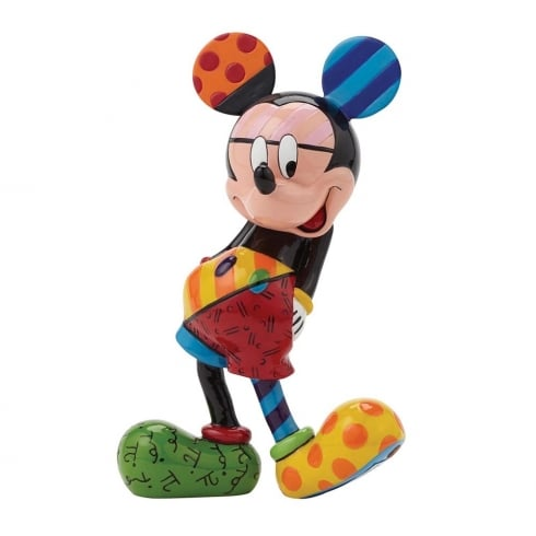 Disney By Britto Mickey Mouse Standing Figurine