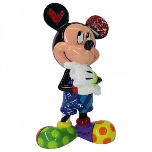 Disney By Britto Mickey Mouse Thinking Figurine