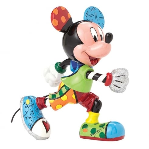 Disney By Britto Mickey Mouse Track Figurine