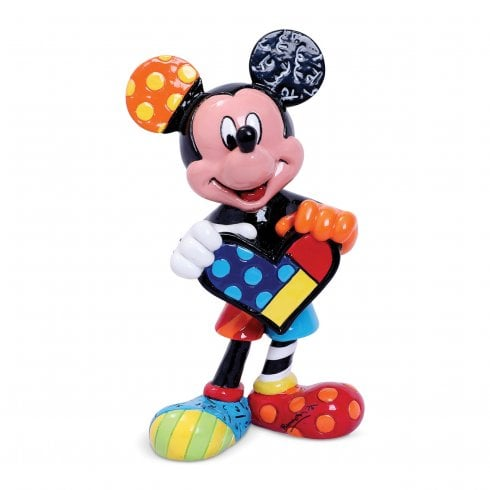 Disney By Britto Mickey Mouse with Heart Mini Figurine