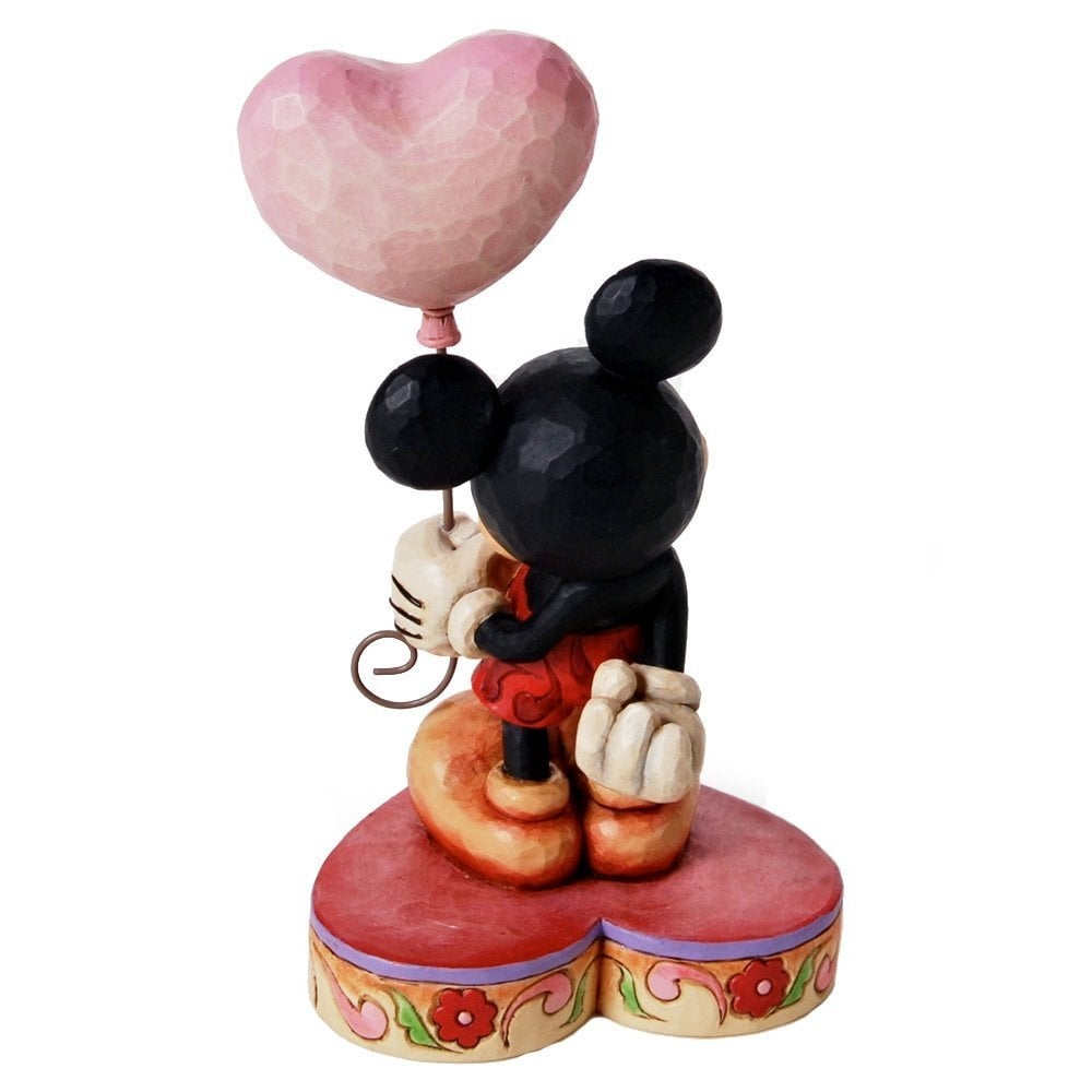 Disney Traditions Mickey Mouse with I Heart U Balloon - Disney ...