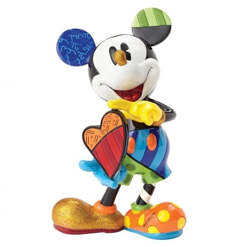 Disney By Britto Mickey Mouse with Rotating Heart