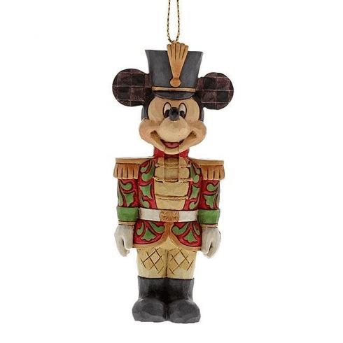 Disney Traditions Mickey Nutcracker Hanging Ornament