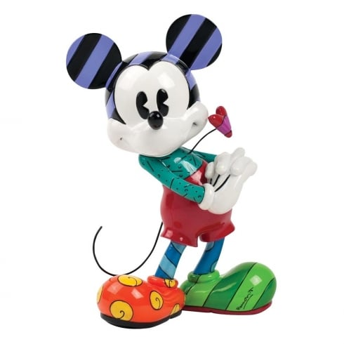 Disney By Britto Mickey With Heart Figurine