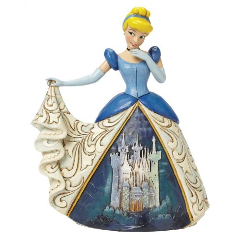 Disney Traditions Midnight at the Ball Cinderella Figurine