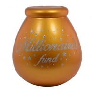 Millionaires Fund Ceramic Money Pot