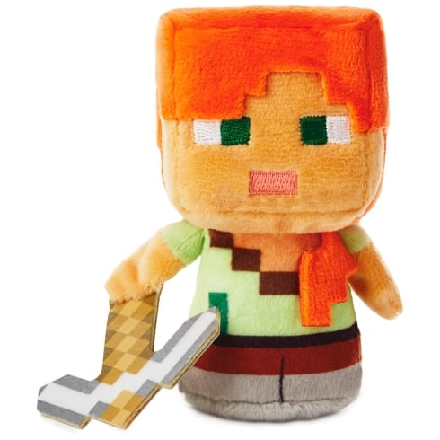 Hallmark Itty Bittys Minecraft Alex US Edition