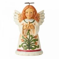 Mini Angel With Star Figurine