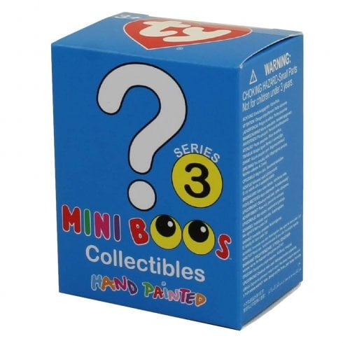 TY Mini Boos Hand Painted Collectibles Blind Box Series 3