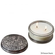 Mini Powder Pot Butterfly with Bougainvillea Fragrance Candle